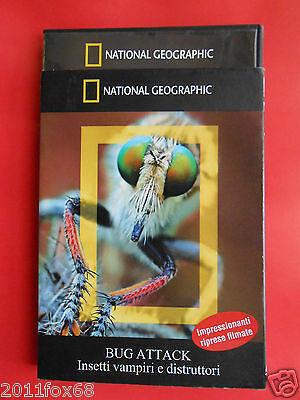 dvd film documentario documentary bug attack insetti vampiri e distruttori vermi ()