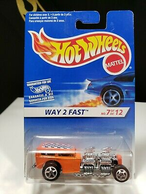 1997 HOT WHEELS FIRST EDITIONS WAY 2 FAST - P2