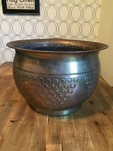 Brass Planter Large Brass Plant Pot Garden Container