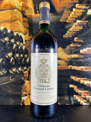 Chateau Gruaud Larose Saint-Julien 1989 Grand Cru Classe Rotwein 0,75L