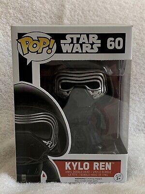 Kylo Ren Funko Pop #60 - Star Wars: The Force Awakens Free Shipping New