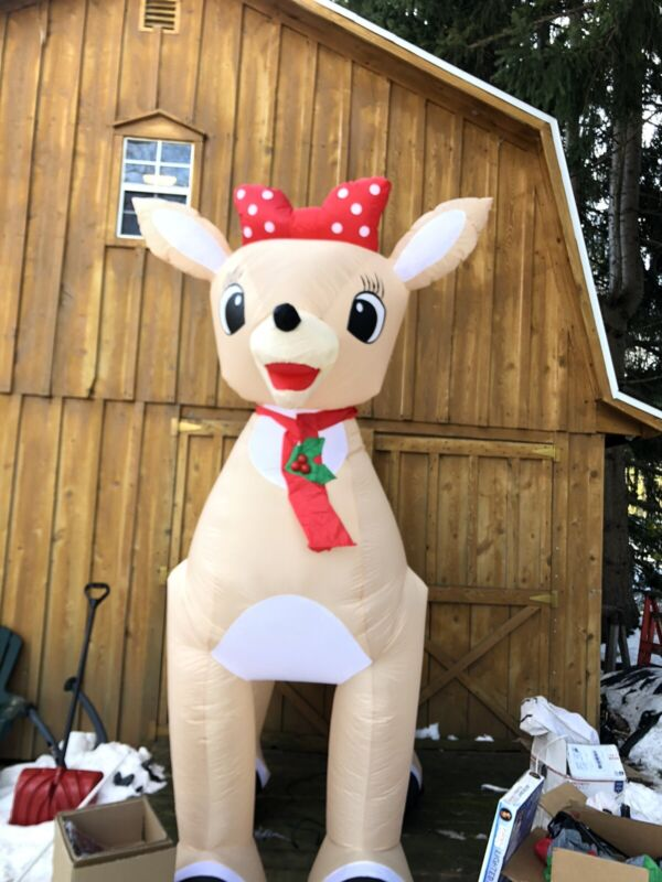 Rudolph Clarice 9 Ft Inflatable , New In Box