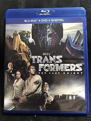 Transformers : The Last Knight (Blu-Ray & DVD) 2017 Mark Wahlberg