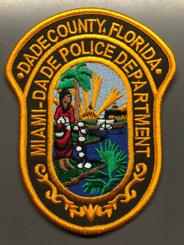 Miami Dade Florida Police Patch