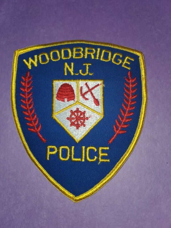 Woodbridge New Jersey Police Patch