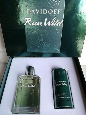 DAVIDOFF Run Wild gift set for men Eau de Toilette 100ml and deodorant stick 75g