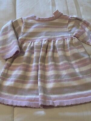 New Baby Girl's Girls Size 0 to 3 month Cuddle Bear Sweater Style Fall Dress