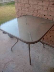 glass outdoor table Dungog Dungog Area Preview