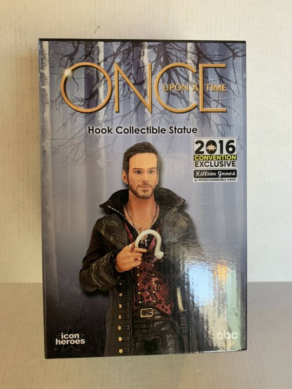 Once Upon A Time 2016 Convention Exclusive-Killian Jones Hook Statue icon heroes