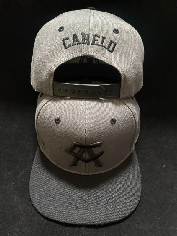 Canelo Alvarez Hat 2 tone Gray brim BOXING CHAMPION SNAPBack New Rare