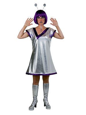 Kostüm für Erwachsene Galaxie-Kleid Party Karneval Kostüm