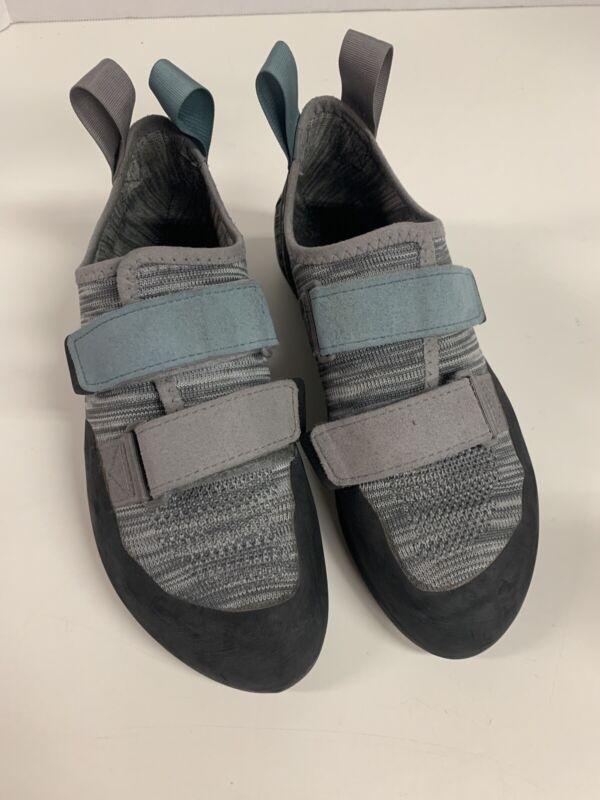 Black Diamond Momentum Rock Climbing Shoes Slate Gray | Blue Womens 8 | Mens 7