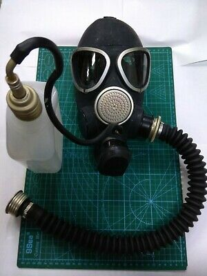 GAS MASK PMK-2 drinking system (1Mask,1Hose,1Flask),Russian Army