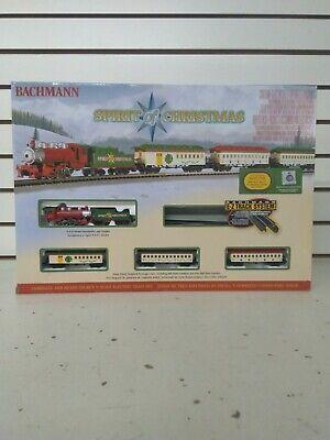 Bachmann-Spirit of Christmas Train Set (Shelf 85)(J)