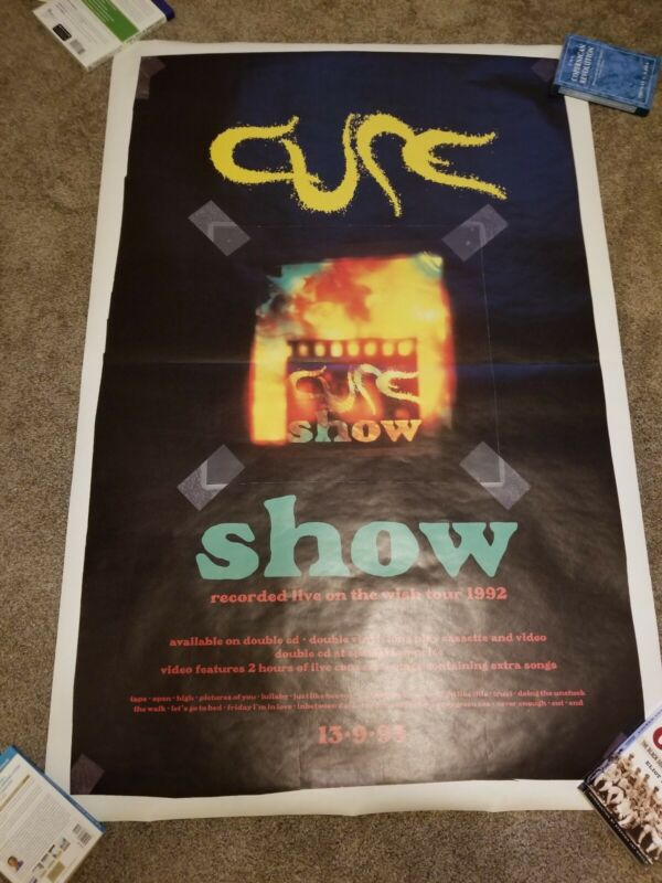 """The Cure Poster - Show 20"""" x 30"""""""