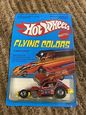 Hotwheels Flying Colors Greased Gremlin Unpunched 1979