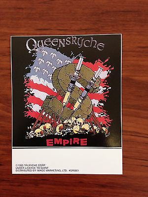 Home Decoration - QUEENSRYCHE - EMPIRE - STICKER/DECAL - BRAND NEW VINTAGE - MUSIC BAND 023