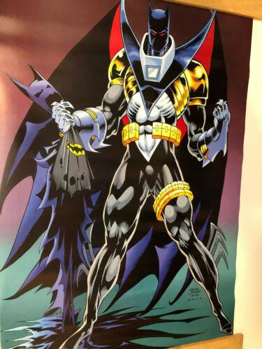 "The New Batman Poster 22"" x 34""  DC Comics Kelly Jones, Kevin Knowlan"
