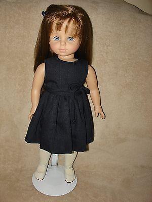 "Gotz all vinyl ""beautiful brunette"" Doll, 18"", West Germany, very pretty!"