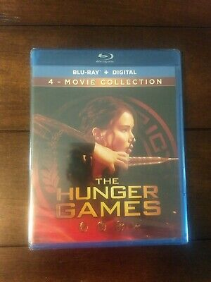 The Hunger Games: Complete 4 Film Collection (Blu-ray) NEW