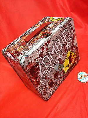 Zombie Survival Kit Lunchbox DENTED DAMAGED