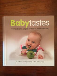 Baby tastes baby recipe book