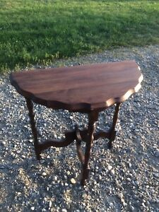 Cute solid wood side table or end table