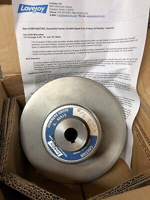Lovejoy Variable Speed Pulley 7020 58 Reeves Style Motor Drive