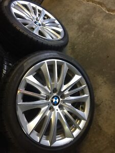 Summer Wheels and tires bmw 550i x Drive 19""