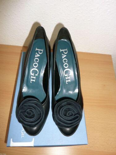 Paco Plateau Gil Neu 38 Echtleder Schuhe Pumps