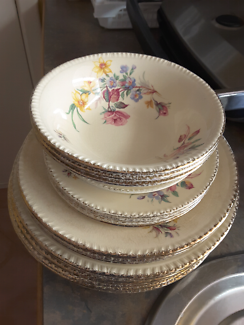 Plate made in england