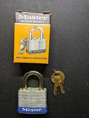 Master Lock 1d No. 1 Laminated Padlock - 1 Each