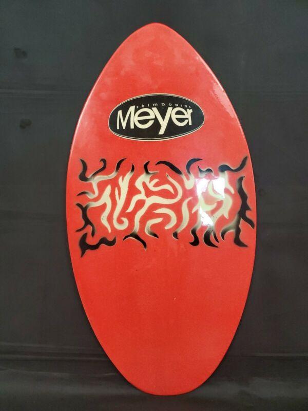 skim board Meyer Green Crazy  Brand Vintage Wood Skimboard Body Boogie
