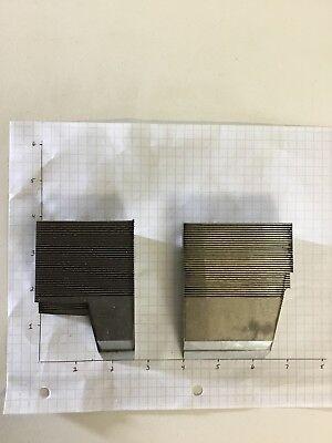 2 Un-ground Steel Moulding Weinig Wkw Corrugated Knives Shaper Moulder 3 12