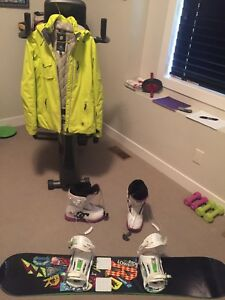 For sale...snowboard/jacket/boots