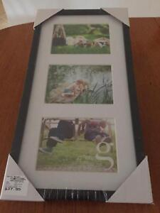 Gallery Picture Frame Black Frame Size 25 X 50cm Or 10 X 20
