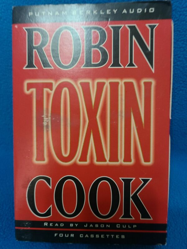Toxin by Robin Cook (1998, Abridged, Audio Cassette)