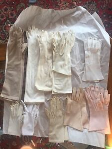 Vintage/Antique Gloves - Long and Short