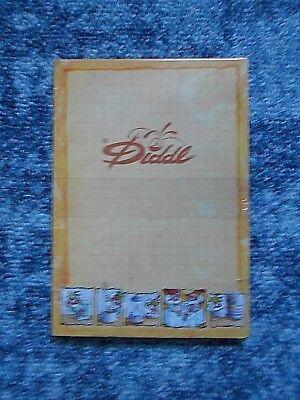 Diddl Block A6 Comic Block Sonderdition - Nr.169 Diddlina mit Geschirr  gelb OVP