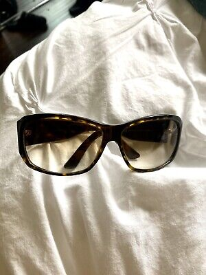 Gucci Vintage Tortoise Womens Sunglasses (with Case)