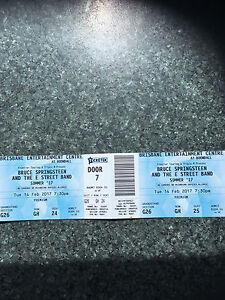 BRUCE SPRINGSTEEN PREMIUM TICKETS Jamboree Heights Brisbane South West Preview