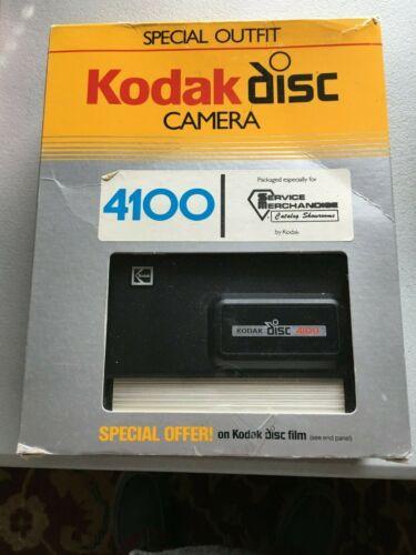 Kodak Disc 4100 Camera With Carry Case Vintage 1985 Film IN ORIGINAL BOX