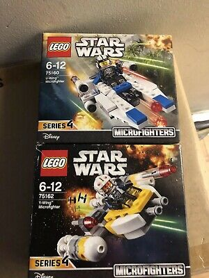LEGO STAR WARS MICROFIGHTERS SERIES 3/4. 75160 & 75162 NEW. SEALED Rare Retired