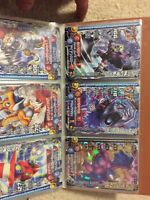 Dragon quest and Digimon cards from japan