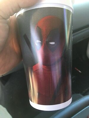 7 Eleven Exclusive Marvel Deadpool 2 Movie Slurpee Plastic Cup  2 Cup Second