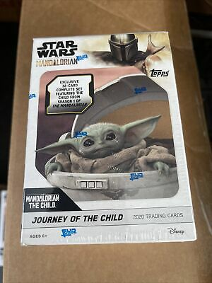 Topps The Mandalorian: Journey of The Child Star Wars Trading Cards Blaster Box