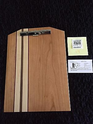 New Exotic Wood Clip Board Walnut Cherry Maple Purple Heart 107597-19