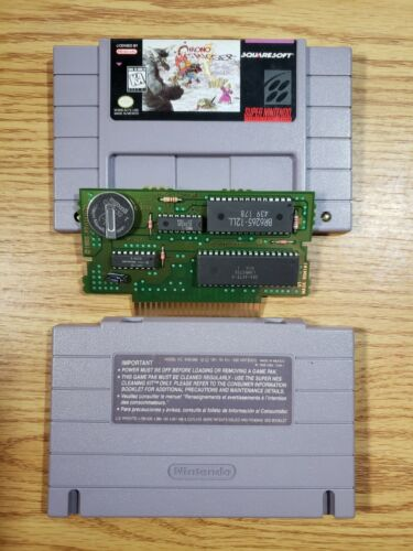 Chrono Trigger SNES, 1995 , Cartridge Only. Authentic Tested  - $160.00