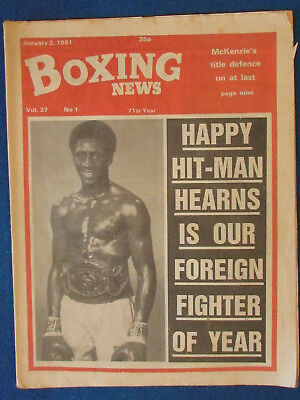 Boxing News Magazine   2 1 81   Thomas Hearns Cover