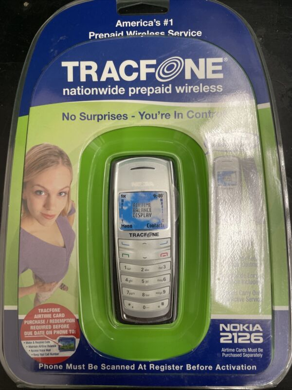 Nokia 2126 Tracfone NIB Never Opened—from 2006